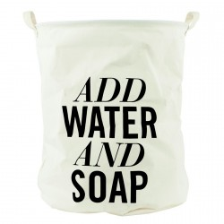 House Doctor Laundry Basket Add Water And Soap
