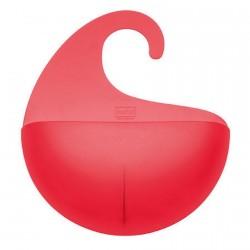 panier de douche design rouge plastique koziol 2846536 surf XL