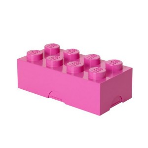 Boîte à sandwich goûter lego lunch box rose