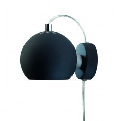 Frandsen Ball Wall Lamp adjustable matt black