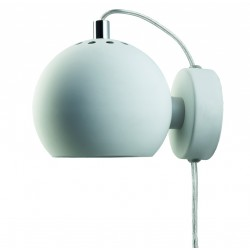 Applique murale design orientable métal blanc Frandsen Ball