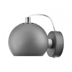 Frandsen Ball Lámpara de Pared ajustable Diseño Moderno Aplique de Pared, metal gris mate