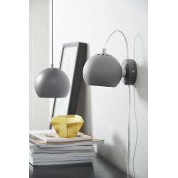 Applique murale orientable métal gris Frandsen Ball