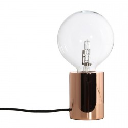 Frandsen Bristol Table Lamp, metal copper
