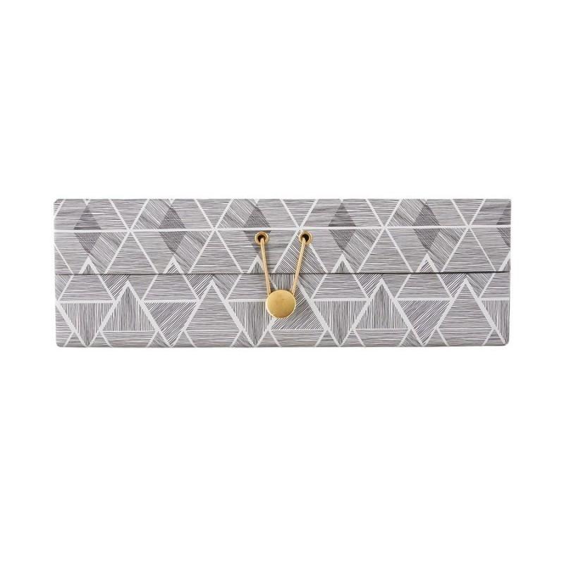 House doctor boite a bijoux decorative seasons carton - Boite decorative en carton ...