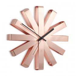 horloge murale cuivre umbra ribbon 118070-880