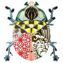Miho Beetle John décoration murale scarabée