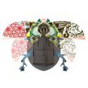 Miho beetle john decoration murale scarabee