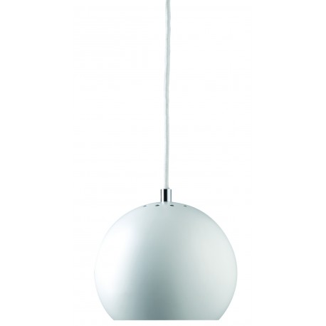 Frandsen Ball suspension design métal blanc mat