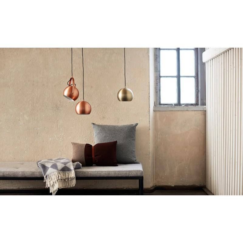 frandsen ball suspension design m tal cuivre bross mat. Black Bedroom Furniture Sets. Home Design Ideas