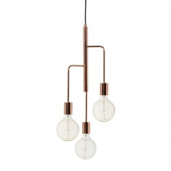 Industrial Hanging Lamp Cool Frandsen metal copper