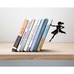 Artori Design Supergal serre-livres métal noir