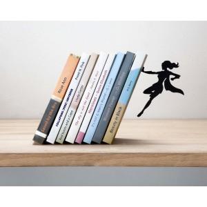 artori design supergal serre livres metal noir