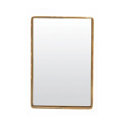 Mirror House Doctor Reflection metal brass 30 x 20 x 4 cm