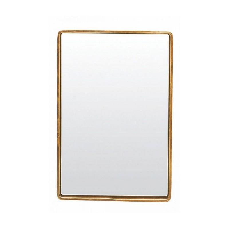Miroir vintage laiton antique house doctor reflection 30 x for Miroir laiton