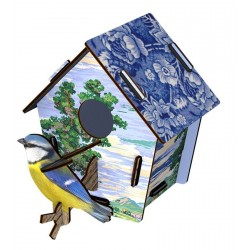 Miho Wall Decoration Bird House Skylander