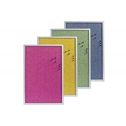 Tableau d'affichage en liège de couleur Zeller