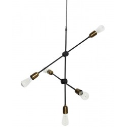 House Doctor lampe suspension déco vintage Molecular