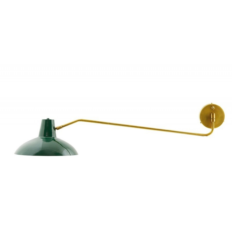 house doctor applique murale bras long en laiton desk cb0461. Black Bedroom Furniture Sets. Home Design Ideas