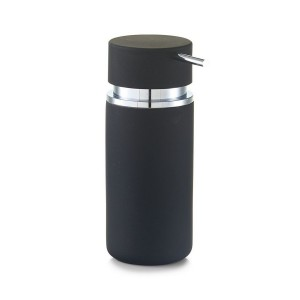 zeller 18571 distributeur de savon liquide design noir