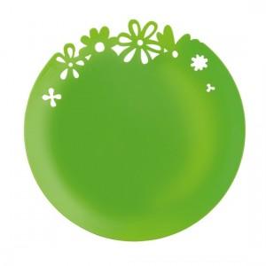 assiette-deco-alice-vert