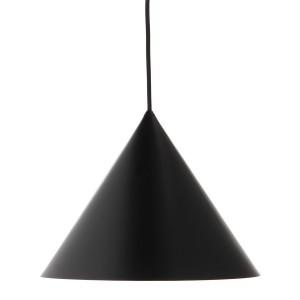 Suspension cône métal noir Frandsen Benjamin