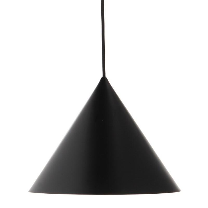 suspension cone metal noir frandsen benjamin 149365001. Black Bedroom Furniture Sets. Home Design Ideas
