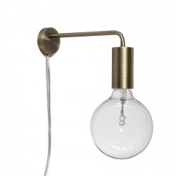 Cool Lamp Frandsen Brass Wall Lamp, matt antique