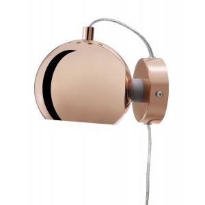 Frandsen Ball Wall Lamp adjustable copper