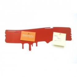 Tableau magnétique rouge original drip pa design