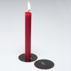 Bougeoir design candle disc pa design