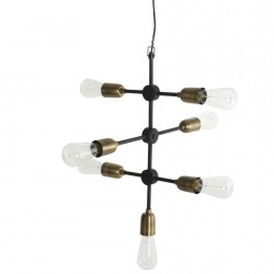 Lampe suspension industrielle House Doctor Molecular