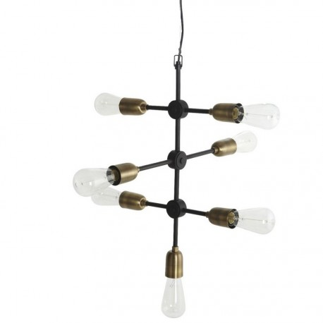 lampe suspension industrielle house doctor molecular Cb0810