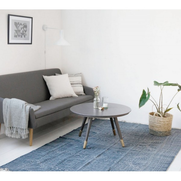 tapis house doctor iza gris 160x230 cm. Black Bedroom Furniture Sets. Home Design Ideas
