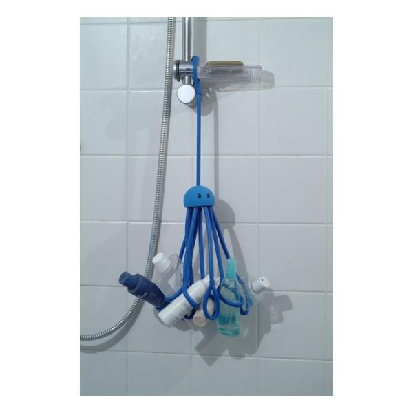 Accessoire douche pratique octopus bleu pa design