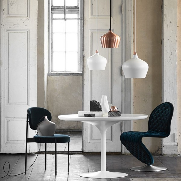 frandsen cohen eve suspension blanche design petit modele 14416600101. Black Bedroom Furniture Sets. Home Design Ideas