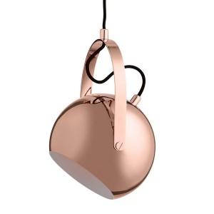 Frandsen Ball Handle suspension design cuivre brillant