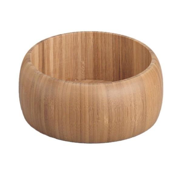 saladier en bois de bambou d 25 cm zeller 25284. Black Bedroom Furniture Sets. Home Design Ideas