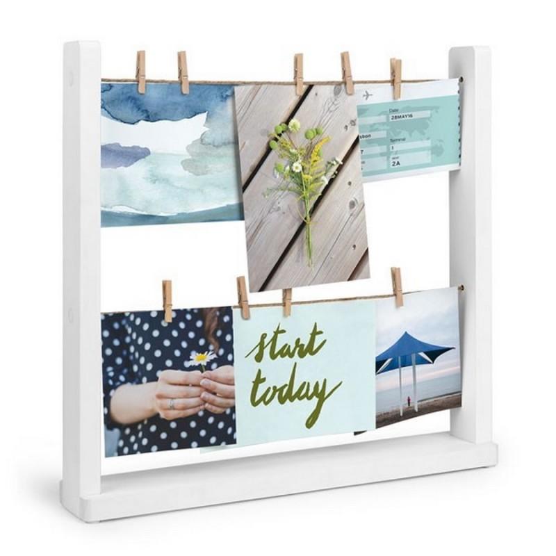 accroche photos pinces a linge a poser umbra hangit. Black Bedroom Furniture Sets. Home Design Ideas