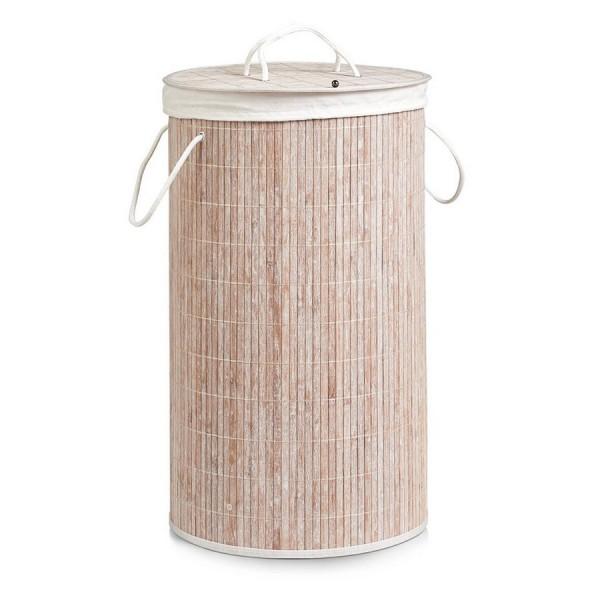 panier a linge en bois de bambou zeller 13409. Black Bedroom Furniture Sets. Home Design Ideas