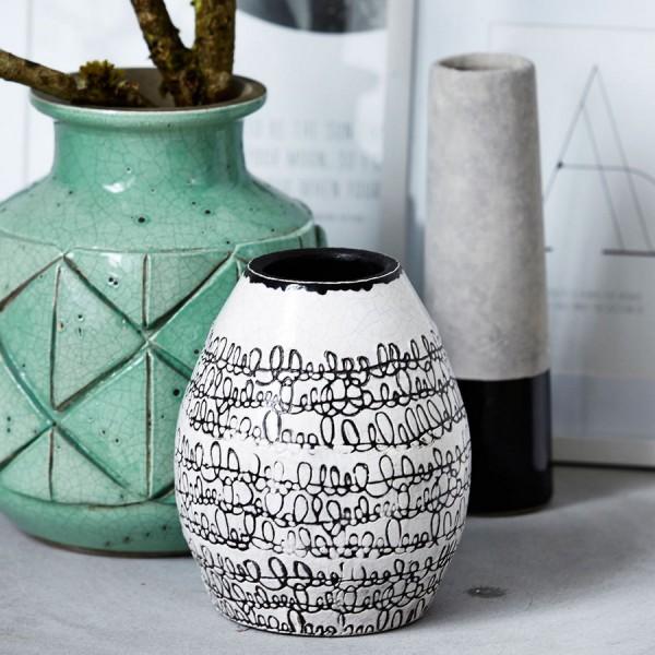 vase decoratif house doctor squiggle ac0157. Black Bedroom Furniture Sets. Home Design Ideas