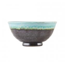 bol ceramique bicolore bleu marron house doctor karly Hc0511