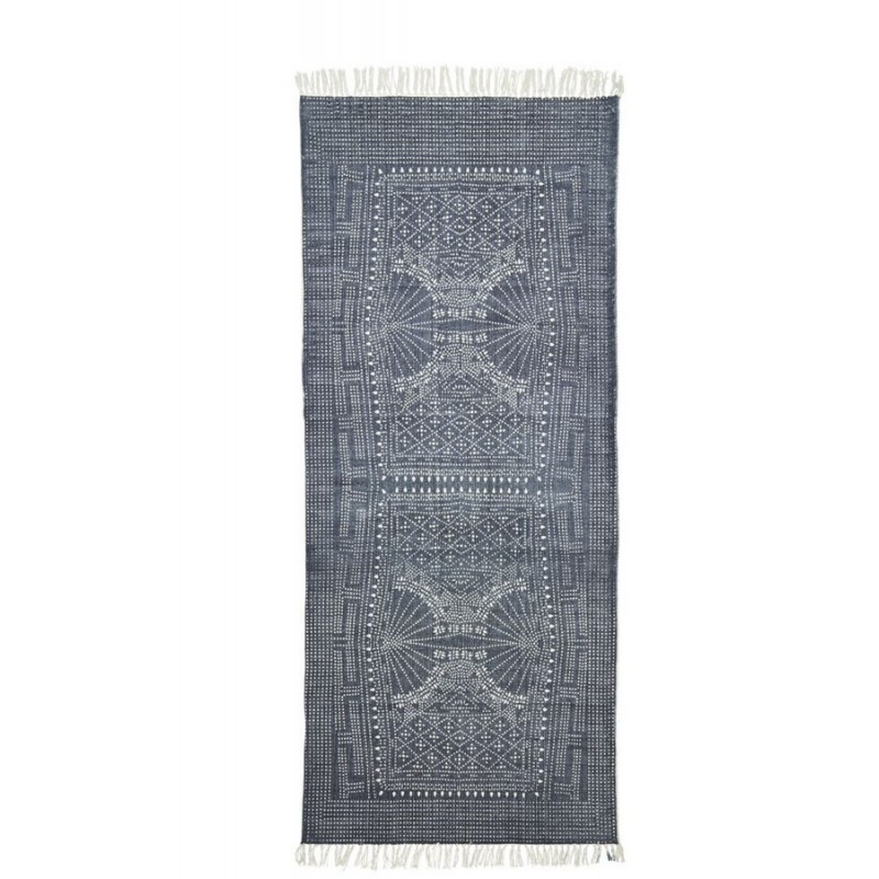 tapis long ethnique vintage house doctor iza 90 x 200 cm. Black Bedroom Furniture Sets. Home Design Ideas