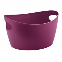 Panier salle de bains koziol bottichelli M aubergine