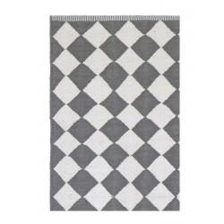 Tapis losanges gris blanc Liv Interior Diamond