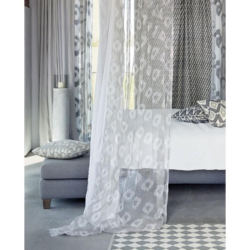 Tapis losanges gris et blanc liv interior diamond 55 x 120 cm Tapis gris et blanc