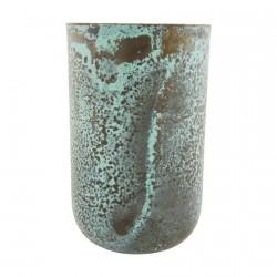 vase house doctor vintage planter style Sp0726 reflets verts