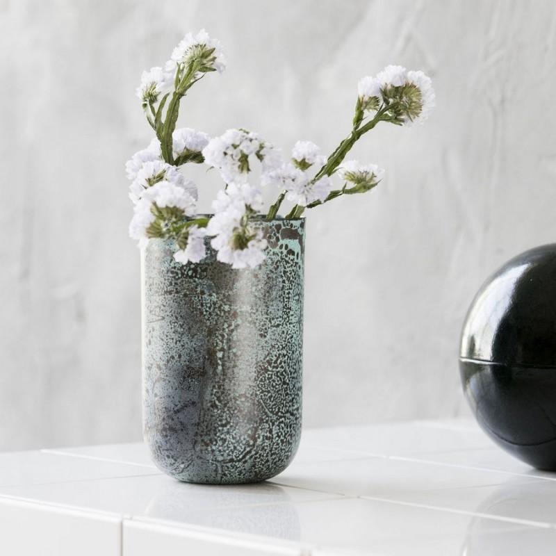 vase house doctor vintage planter style sp0726 reflets verts. Black Bedroom Furniture Sets. Home Design Ideas