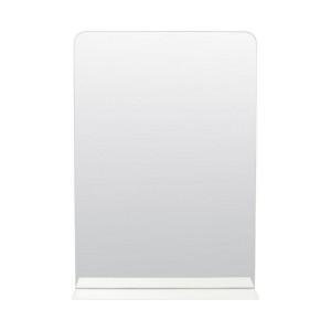 miroir mural avec etagere metal blanc house doctor room Pj0080