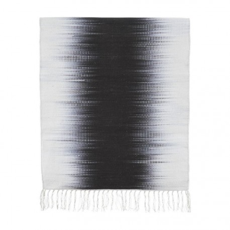 tapis house doctor tie dye gris electric 90 x 200 cm